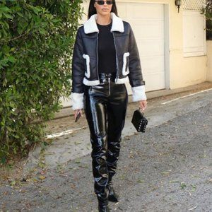 I.AM.GIA // Nikole Faux Leather High Waisted Pant